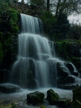 Bowood House - Waterfall